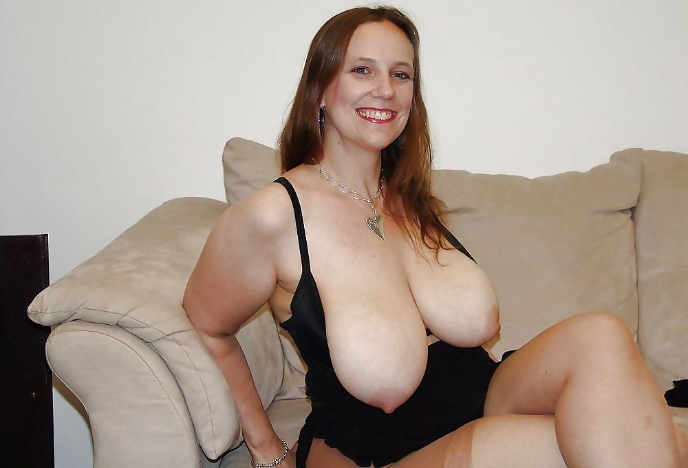 Large mature boobs
