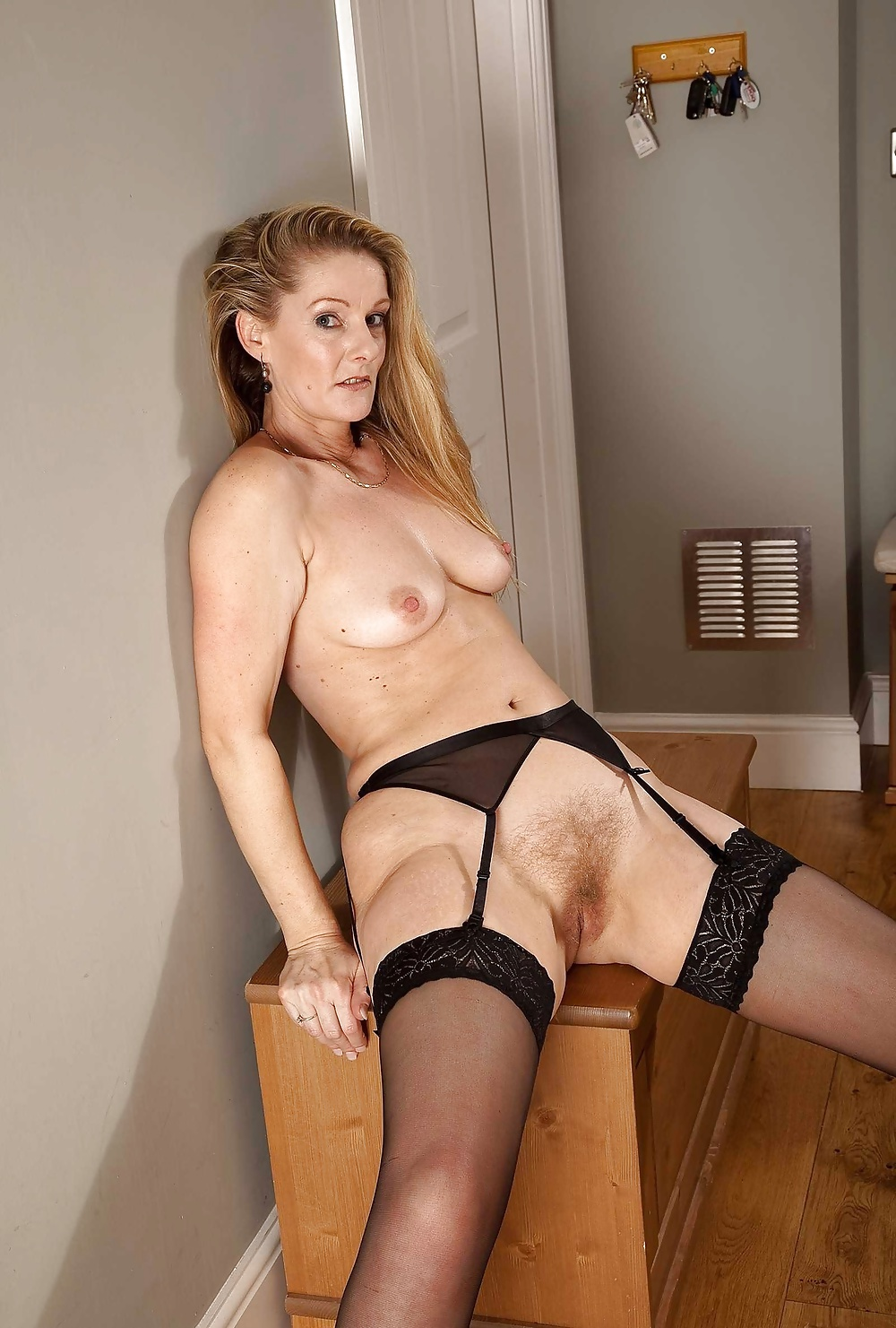 Hot moms in stocking