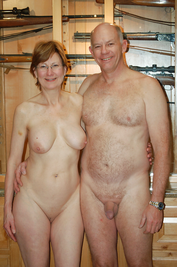 Fat mature couples naked you